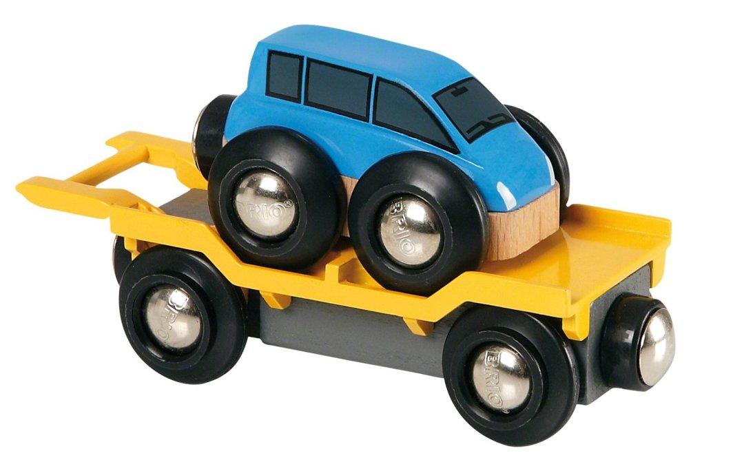 Brio Auto transporter z rampą (33577) 1