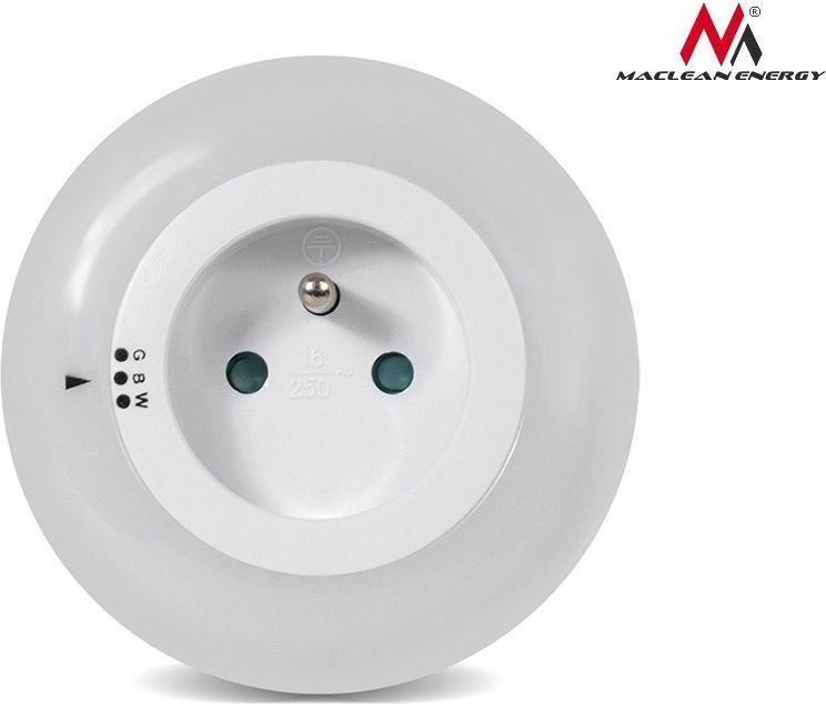 Lampka wtykowa do gniazdka Maclean LED z czujnikiem zmierzchu (MCE122) 1
