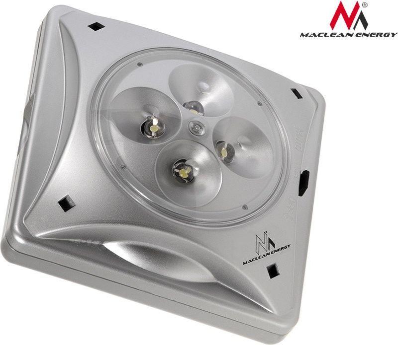 Maclean Lampa solarna 4LED (MCE124) 1