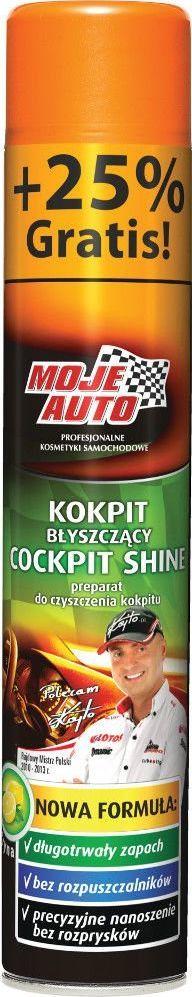 Moje Auto PREPARAT DO CZYSZCZENIA KOKPITU O ZAPACHU CYTRYNY 600ML+25% GRATIS 19-010 1