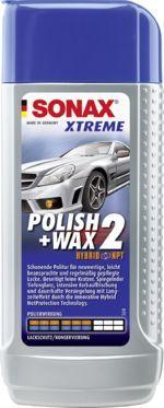 SONAX WOSK LEKKOŚCIERNY SONAX XTREME POLISH&WAX 2 NANOPRO 250 ML (207100) 1