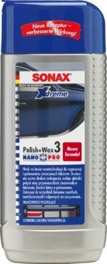 SONAX WOSK ŚCIERNY XTREME POLISH&WAX 2 NANOPRO 250 ML (202100) 1