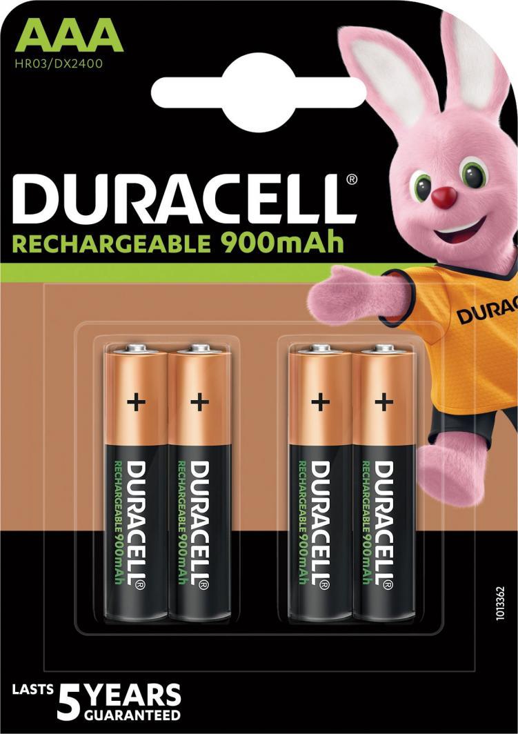 Duracell Akumulator AAA / R03 900mAh 4szt. 1