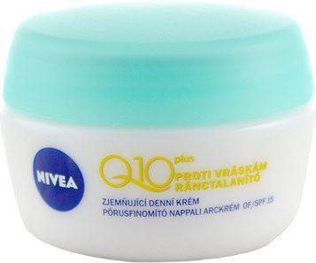 Nivea Q10 Plus Softening Day Cream Krem do twarzy do skóry mieszanej 50ml 1