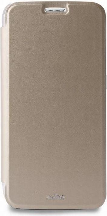 Puro Etui Booklet Wallet do Samsung Galaxy S6 (SGS6BOOKCCRYGOLD) 1