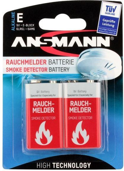 Ansmann Bateria 9V Block 565mAh 2szt. 1