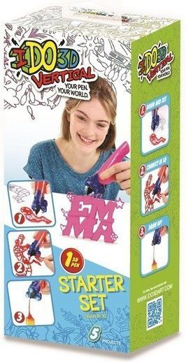 Długopis 3D Formatex IDO3D Zabawa ze słowami - 1 długopis 3D, różowy (GXP-563847) 1