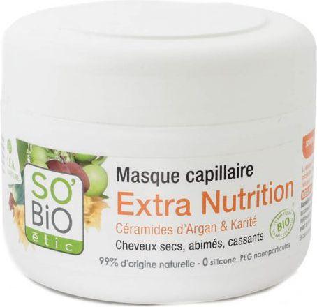So Bio Olejek arganowy Odżywcza maska do włosów 200ml 1