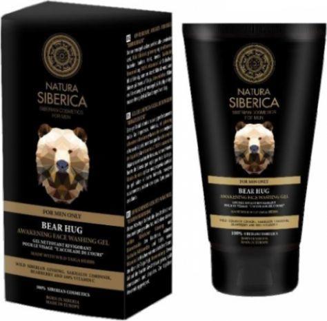 Natura Siberica MenPobudzający żel do mycia twarzy Objęcie Niedźwiedzia 150ml 1