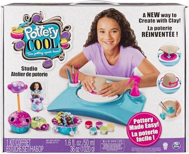 Spin Master Pottery Cool Zestaw do tworzenia w glinie (6027865) 1