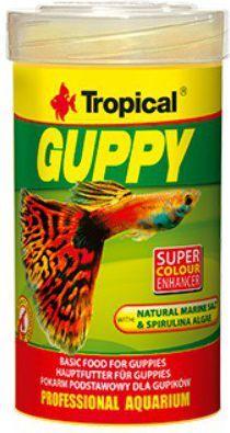 Tropical Guppy pokarm dla gupików 100ml 1