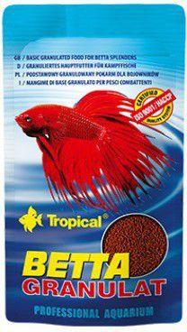 Tropical Betta Granulat pokarm dla bojowników 10g 1