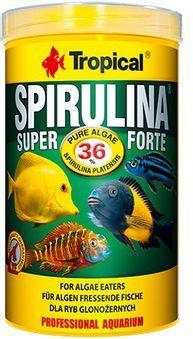 Tropical Super Spirulina Forte pokarm roślinny dla ryb 250ml/50g 1