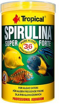 Tropical Super Spirulina Forte pokarm roślinny dla ryb 12g 1