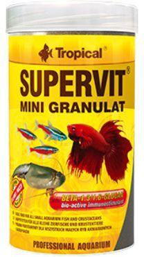 Tropical Supervit Mini Granulat pokarm wieloskładnikowy dla ryb 10g 1