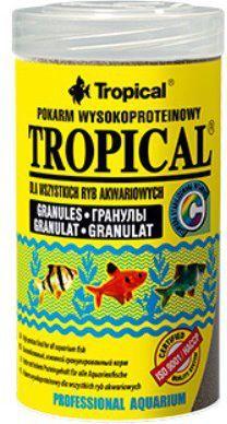Tropical Granulat wysokobiałkowy pokarm dla ryb 20g 1