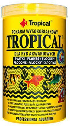 Tropical Trowysokobiałkowy pokarm dla ryb 1000ml/200g 1