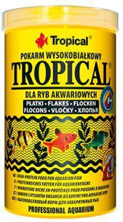 Tropical wysokobiałkowy pokarm dla ryb 500ml/100g 1