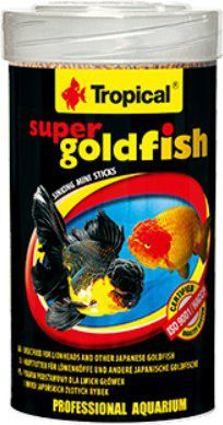 Tropical Super Goldfish Mini Sticks pokarm wieloskładnikowy dla złotych rybek 100ml 1