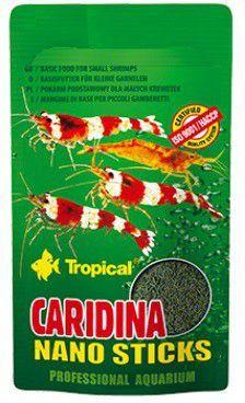 Tropical Caridina Nano Sticks mikropałeczki dla krewetek karłowatych 10g 1
