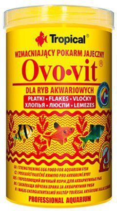 Tropical Ovo-Vit wzmacniający pokarm jajeczny dla ryb 100ml/20g 1