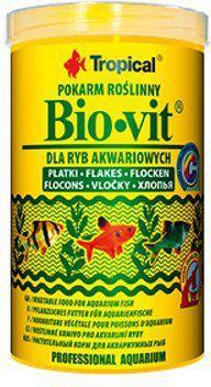 Tropical Bio-Vit pokarm roślinny dla rybek 250ml/50g 1