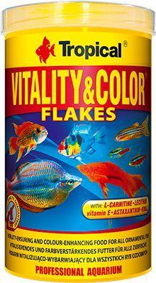 Tropical Vitality&Color pokarm witalizująco-wybarwiający dla ryb 500ml/100g 1