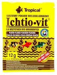 Tropical Ichtio-Vit pokarm wieloskładnikowy dla ryb 12g 1