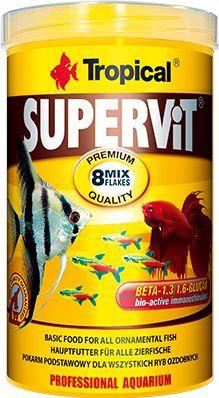 Tropical Supervit pokarm wieloskładnikowy dla ryb 500ml/100g 1