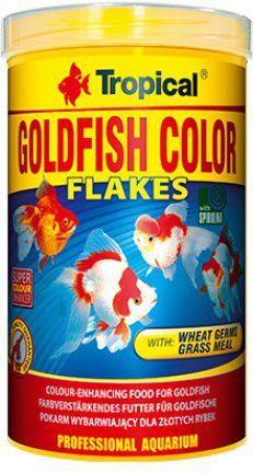 Tropical Goldfish Color pokarm wybarwiający dla złotych rybek 500ml 1