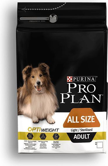 Purina Pro Plan OptiWeight Light/Sterillised Adult 3kg 1