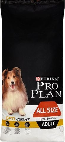 Purina Pro Plan OptiWeight Light/Sterillised Adult 14kg 1
