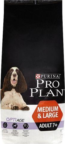 Purina Pro Plan OptiAge Medium&Large Adult 7+ 14kg 1