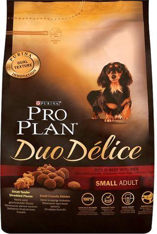 Purina Pro Plan Duo Délice Wołowina Ryż Small Adult 2,5kg 1