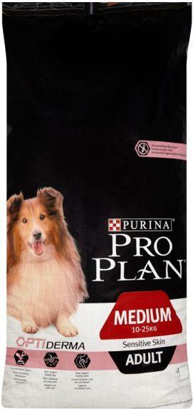 Purina Pro Plan OptiDerma Adult Medium 14kg 1