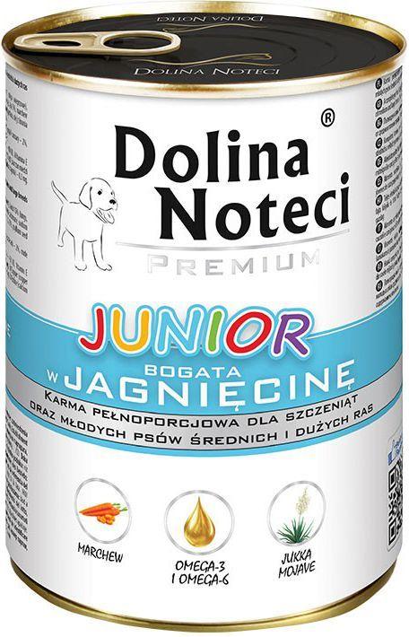 Dolina Noteci Premium Junior z jagnięciną 400g 1