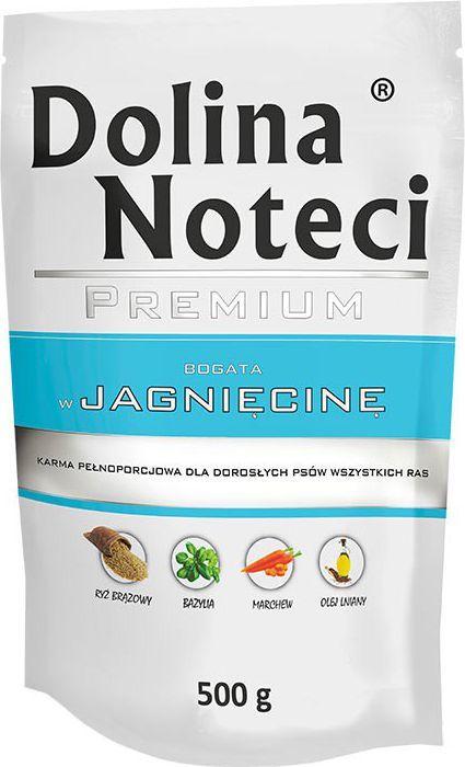 Dolina Noteci Premium z jagnięciną 500g 1