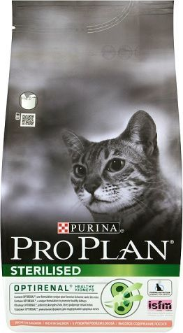 Purina Pro Plan Sterillised Łosoś 1,5kg 1
