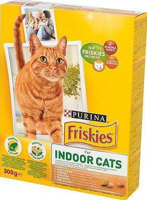 Purina Kurczak z dodatkiem ogrodowych warzyw Friskies Indoor Cats 300g ID produktu: 1063858