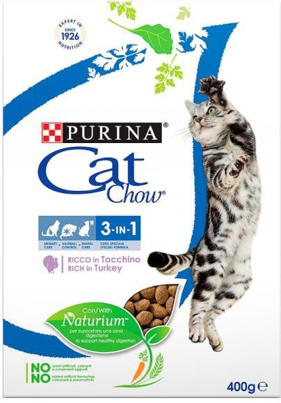 Purina Indyk Cat Chow® Special Care 3w1 400g 1