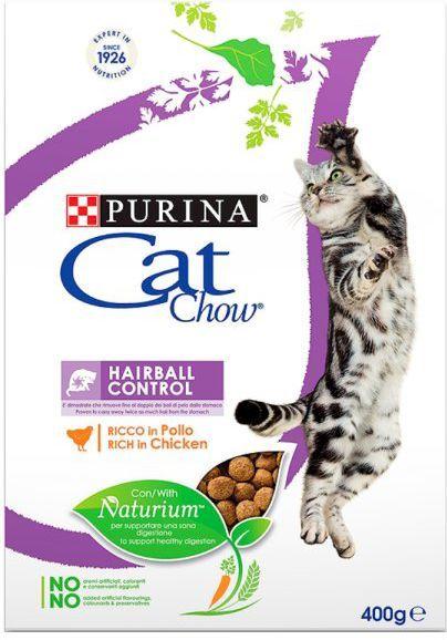 Purina Kurczak Cat Chow® Hairball Control 400g 1