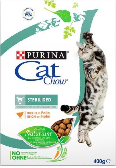 Purina Kurczak Cat Chow® Sterilised 400g 1