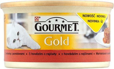 Gourmet Gold z wołowiną i pomidorami 85g 1