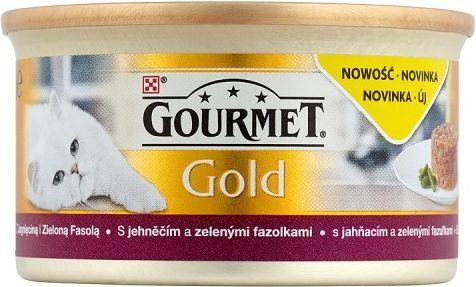 Gourmet Gold z jagnięciną i zieloną fasolą 85g 1