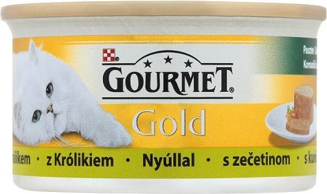 Gourmet Gold Pasztet z królikiem 85g 1