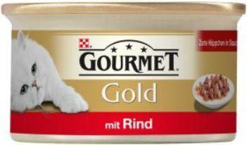 Gourmet Gold Mus z wołowiną 85g 1