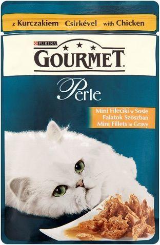 Gourmet Perle Mini fileciki w sosie z kurczakiem 85g 1