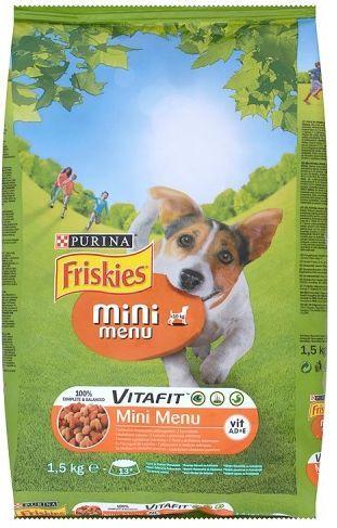 Purina Friskies Vitafit Mini Menu 1,5kg 1