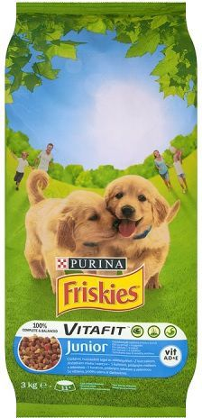 Purina Friskies Vitafit Junior 3kg (2176) 1