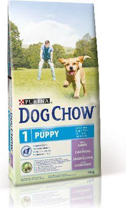 Purina Jagnięcina Dog Chow Puppy 14kg 1